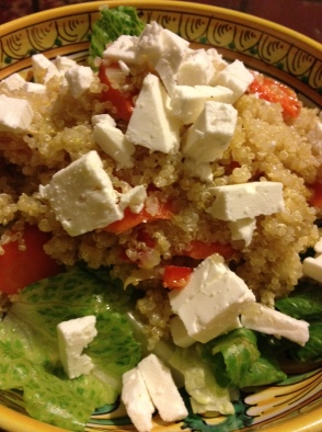 quinoa and carrot salad