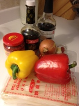 hot pepper noodle prep